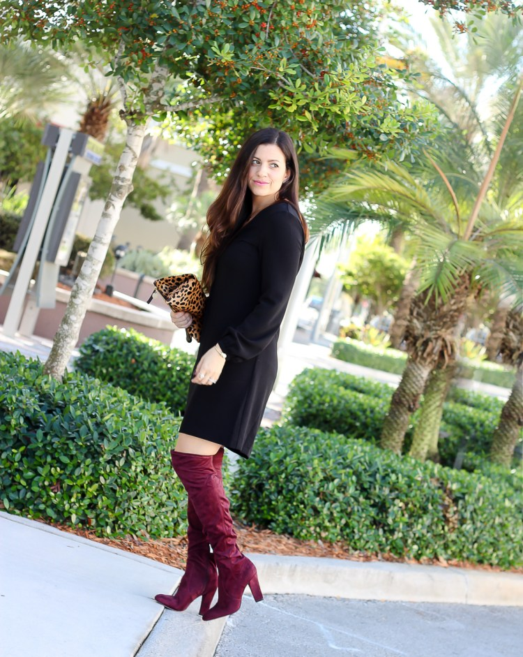 Ivanka Trump over the knee boots, Stuart Weitzman highland boot dupe