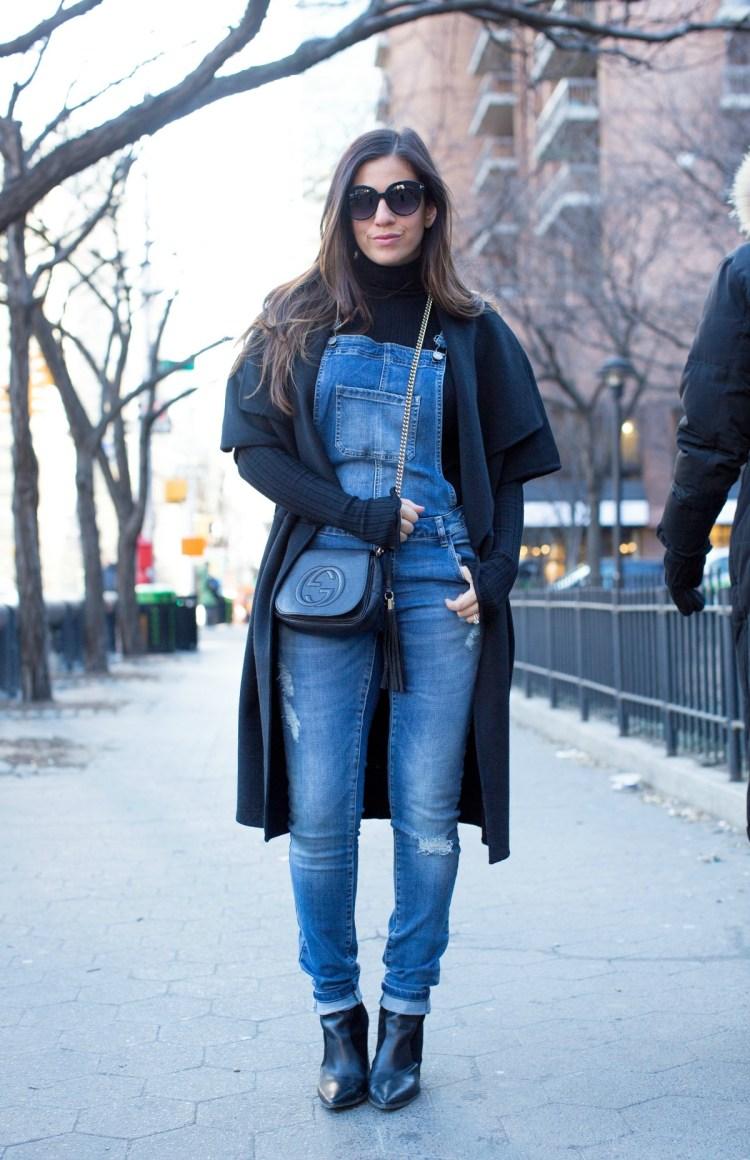 tips on wearing overalls in the fall and winter