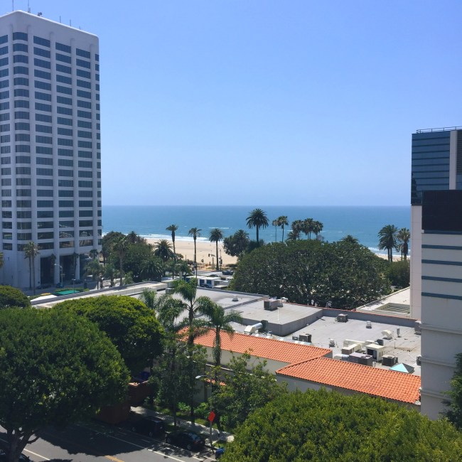 The Huntley room view