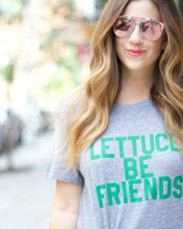 Lettuce Be Friends tee
