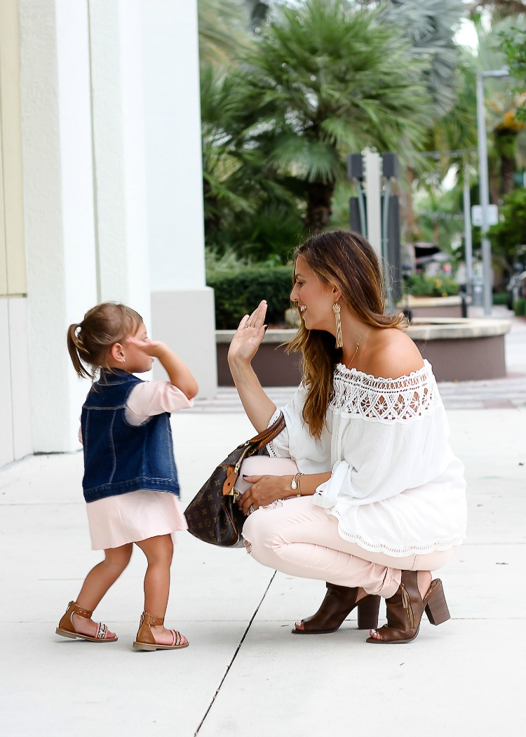 Mommy and Me style with fashion blogger Jaime Cittadino and Harley Cittadino