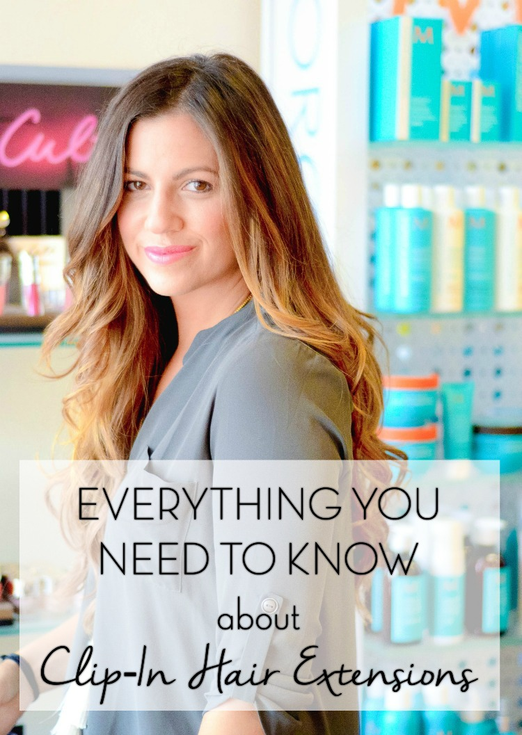 Everything You Need To Know about Clip-In Hair Extensions