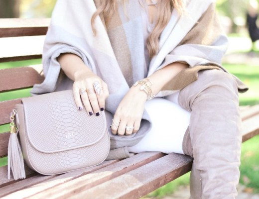 Gigi New York Kelly saddle bag