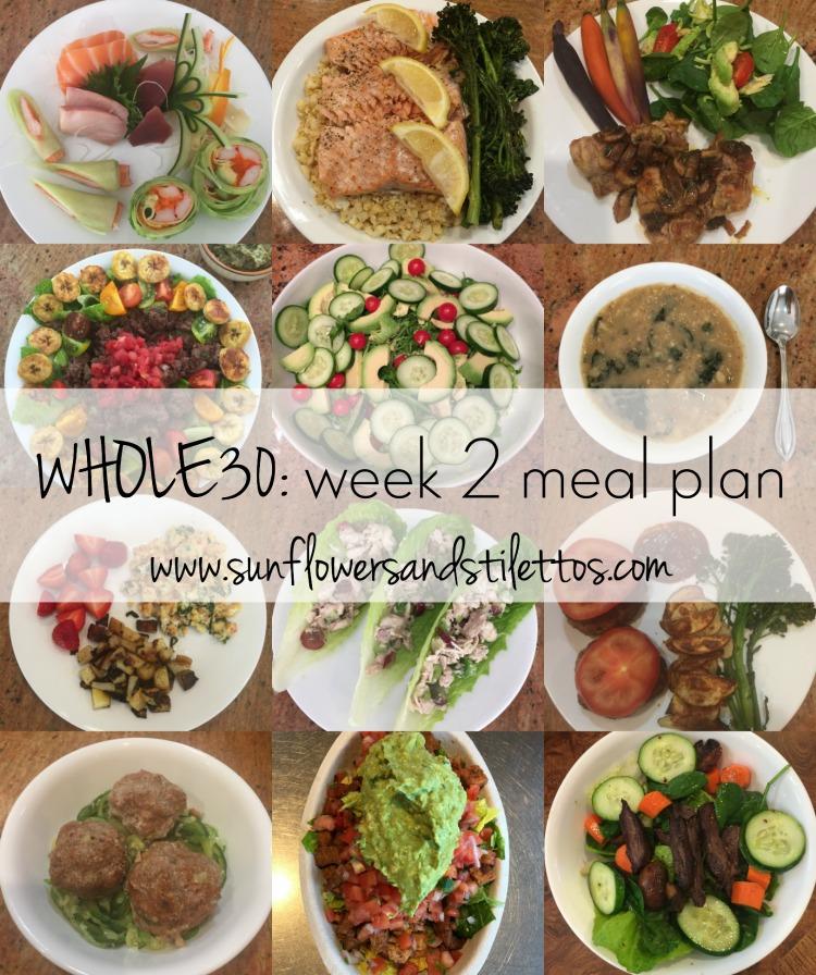 Whole30 week 2 meal plan
