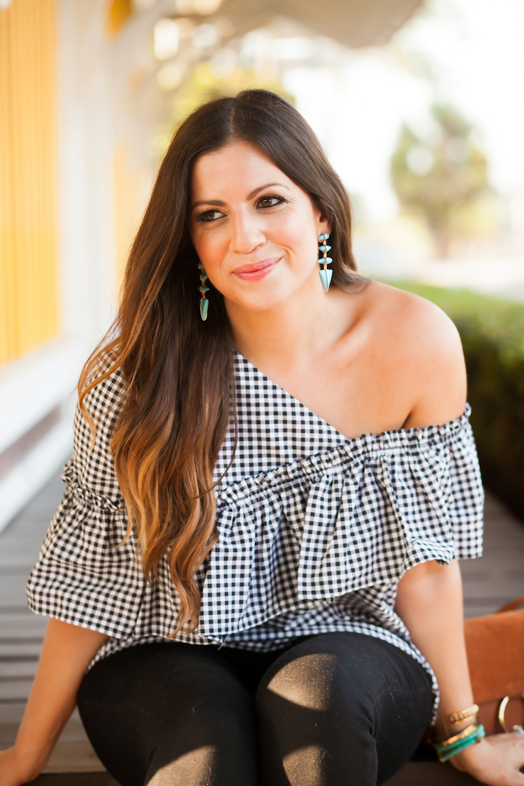 Top Gingham Pieces To Wear This Spring, Sunflowers and Stilettos blog