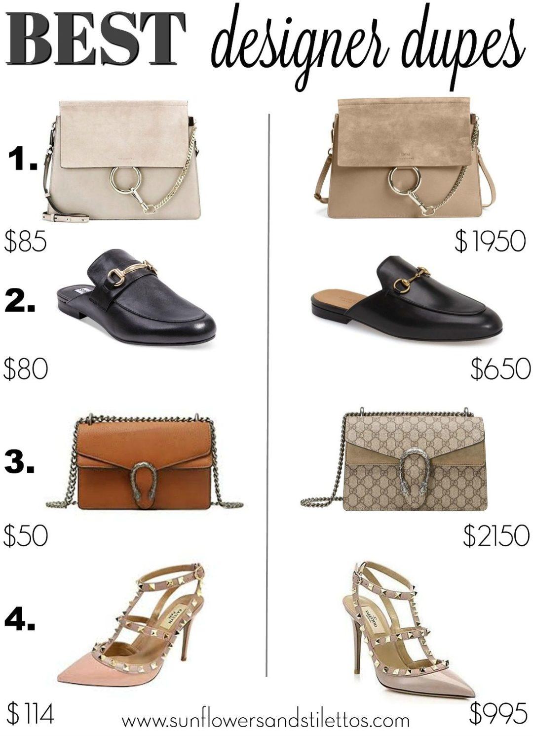 65e8b68d3806 Best Designer Dupes   Gucci Bag Dupe   Gucci Loafer Dupe   Valentino  Rockstud Dupe