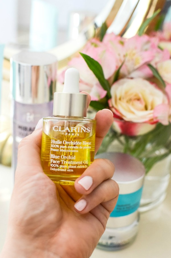 Clarins Blue Orchid Face Treatment Oil _ best face oil