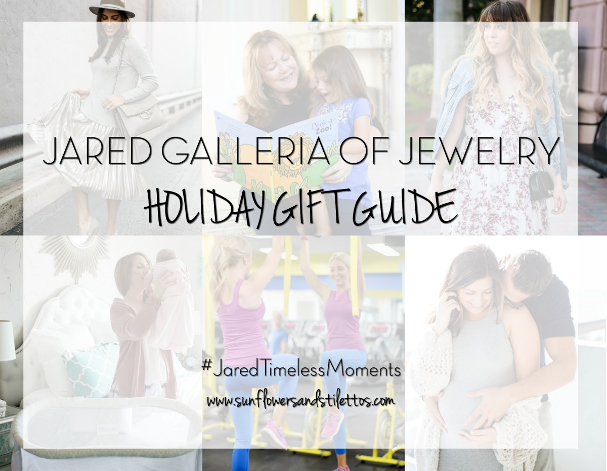 Jared The Galleria of Jewelry Holiday Gift Guide Sunflowers and