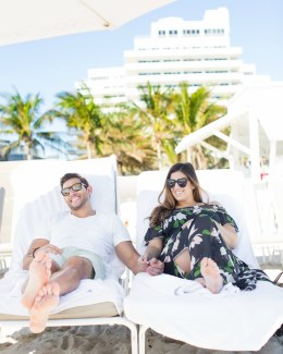 Miami Fashion Blogger Jaime Cittadino Sunflowers and Stilettos at Eden Roc Miami Hotel