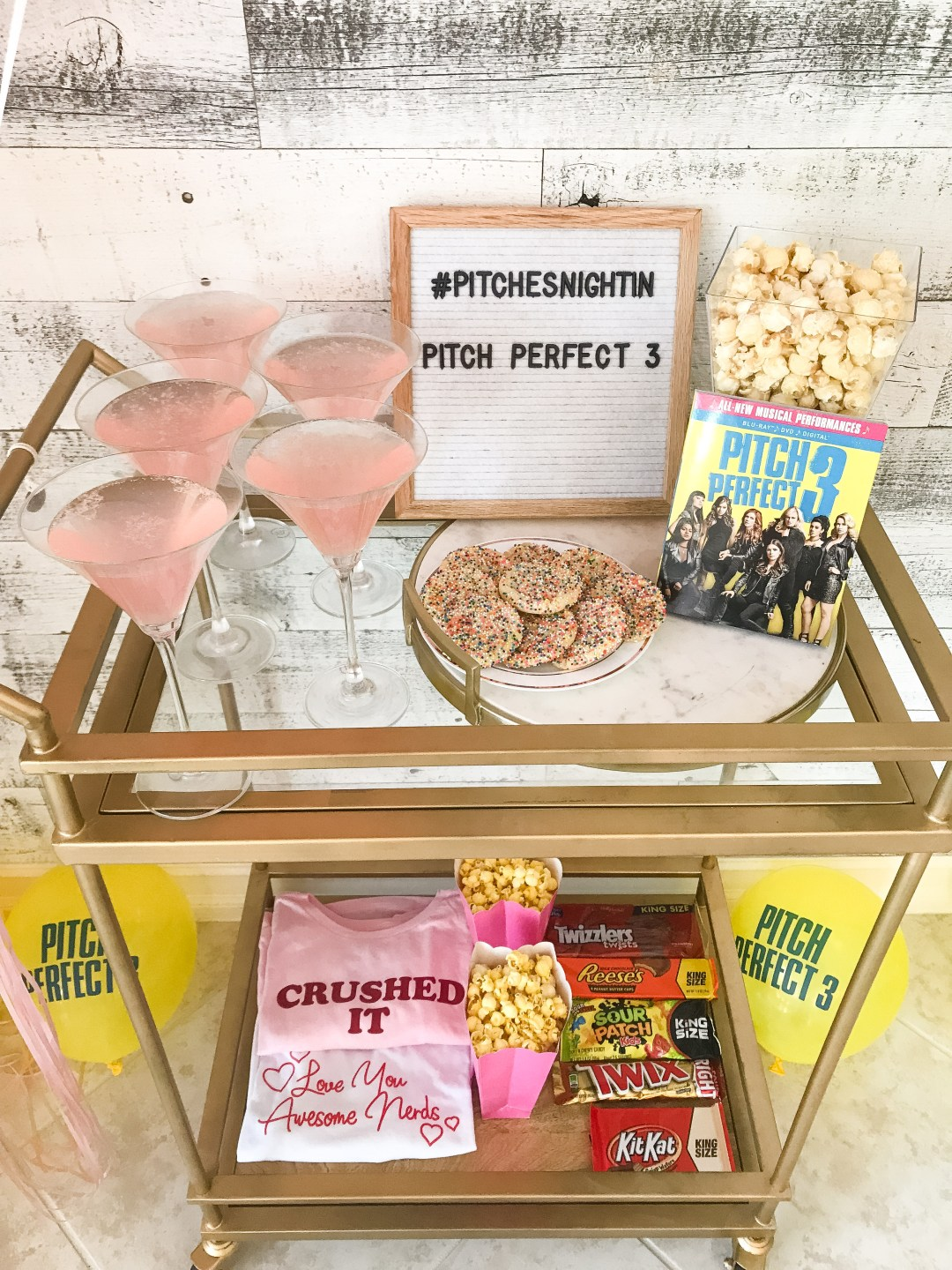 Pitch Perfect party ideas, Sunflowers and Stilettos blog