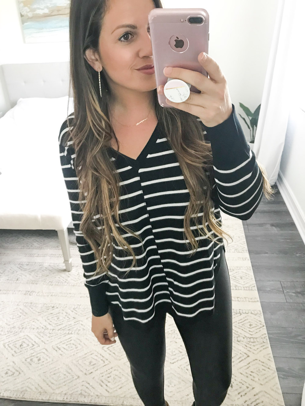 Calson stripe long sleeve