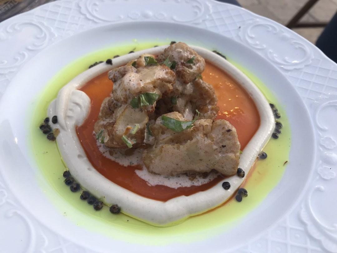 Jerusalem food, Eucalyptus menu
