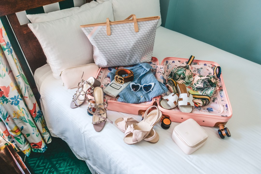 The Colony Palm Beach packing list - Sunflowers and Stilettos, BRIC's Capri luggage