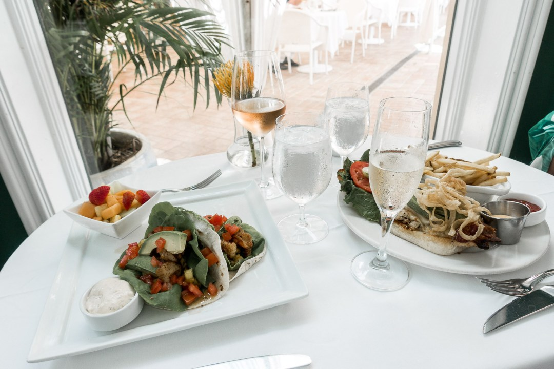 the-colony-palm-beach-hotel-review-sunflowers and stilettos-lunch-menu