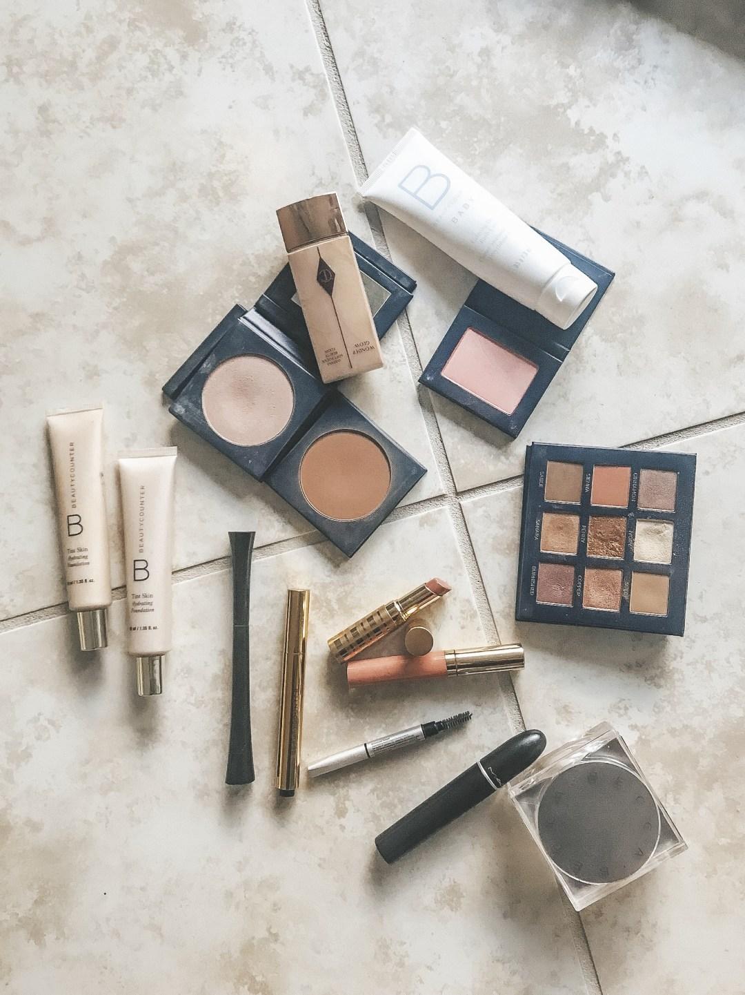 Easy Makeup Tutorial, Beautycounter makeup, clean beauty, toxic free makeup