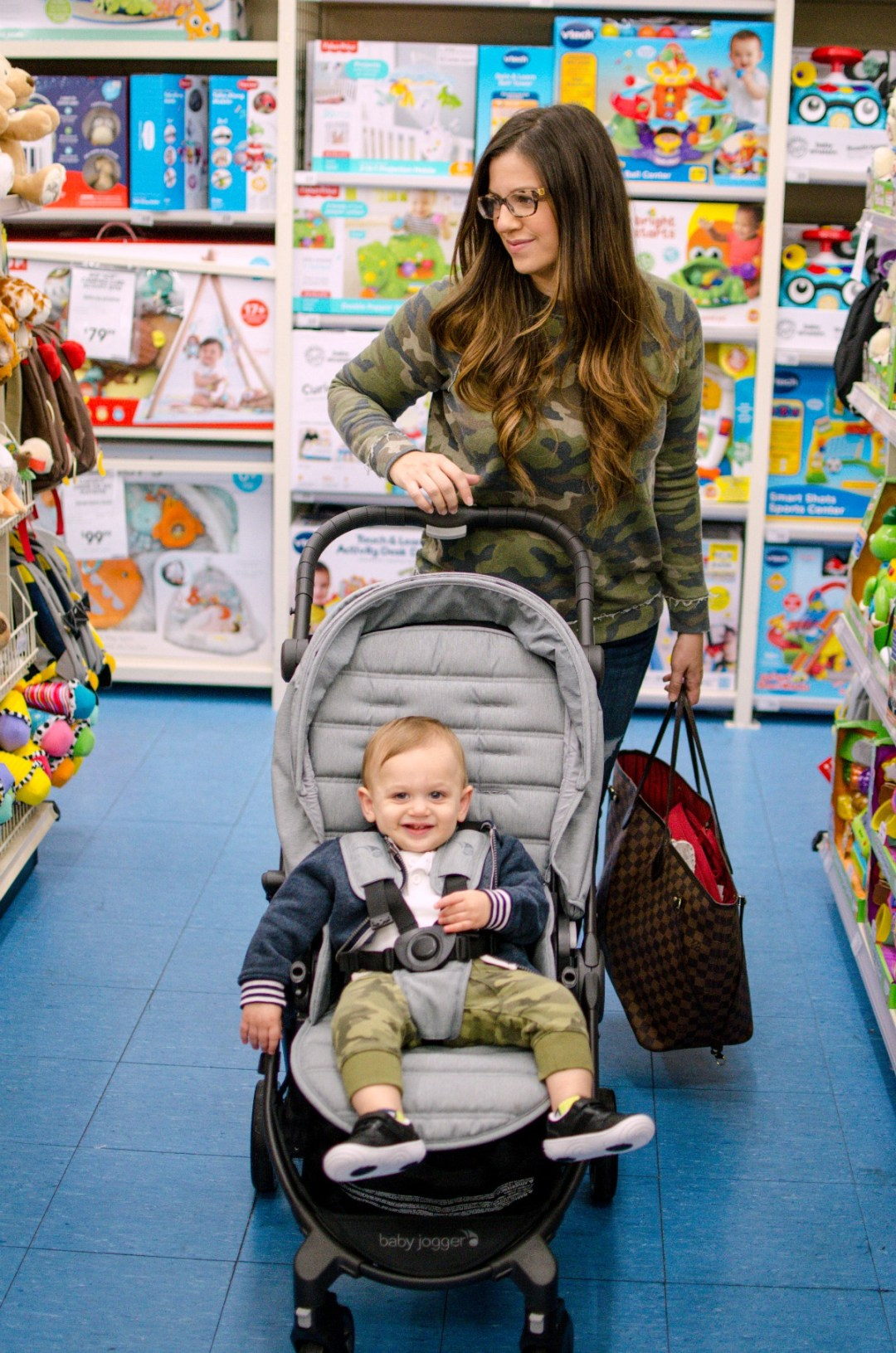 buybuy BABY toys, baby jogger stroller