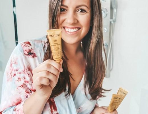 Pantene rescue shots review, fix dry hair, best product for split ends