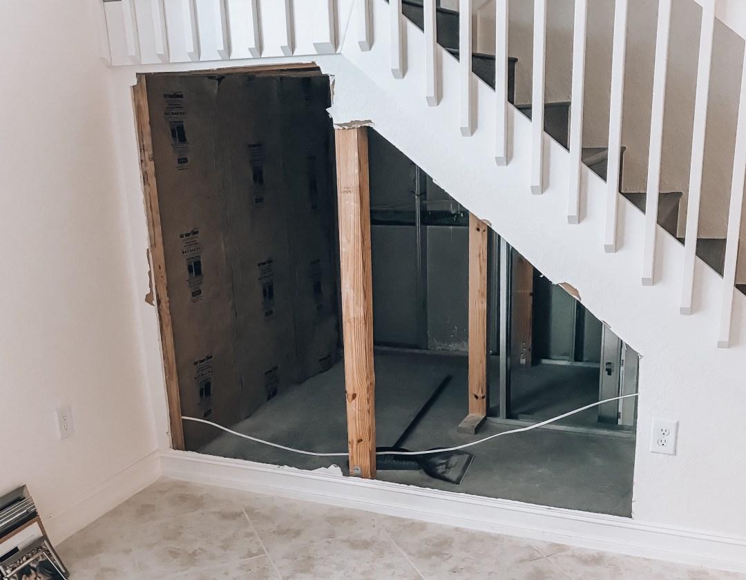 Utilize Space Under Staircase, DIY Home Wine Cellar
