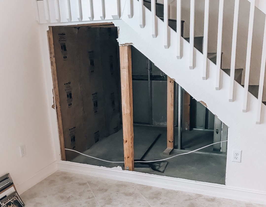 Utilize Space Under Staircase, DIY Home Wine Cellar