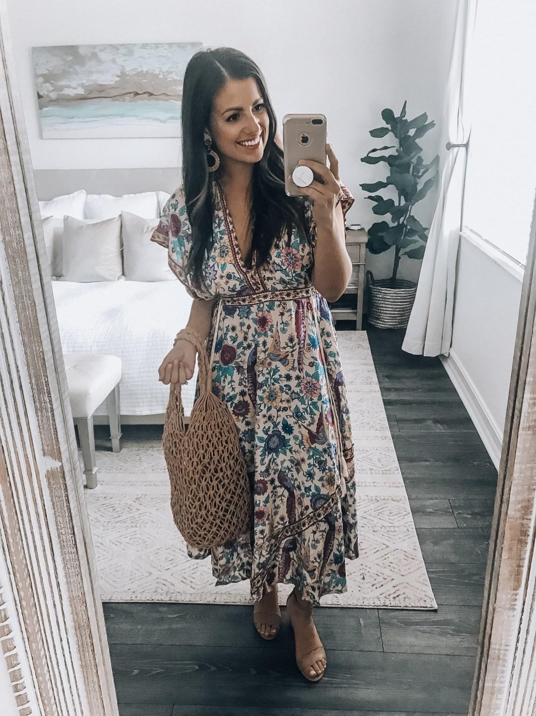 Amazon Fashion boho dress, Amazon Fashion haul