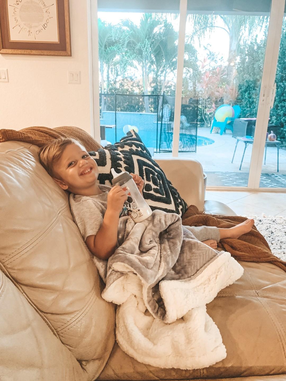 Parents Choice walmart baby blanket, Jaime Cittadino lifestyle blogger