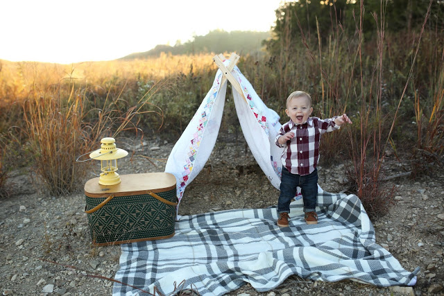 Happy Camper: Nash's One Year Pictures