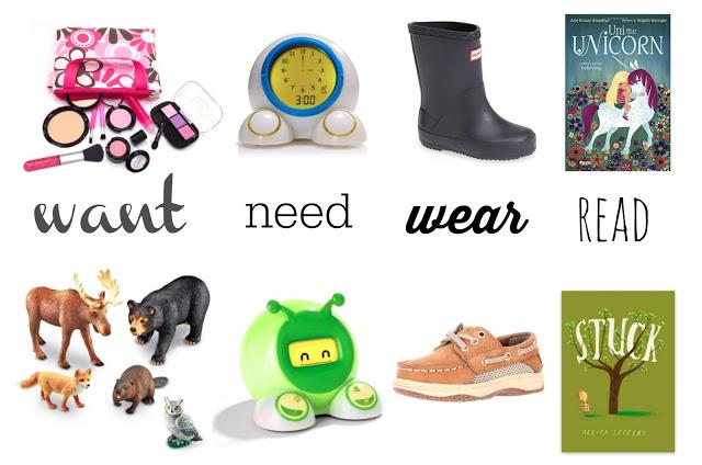 Want, Need, Wear, Read – 2015