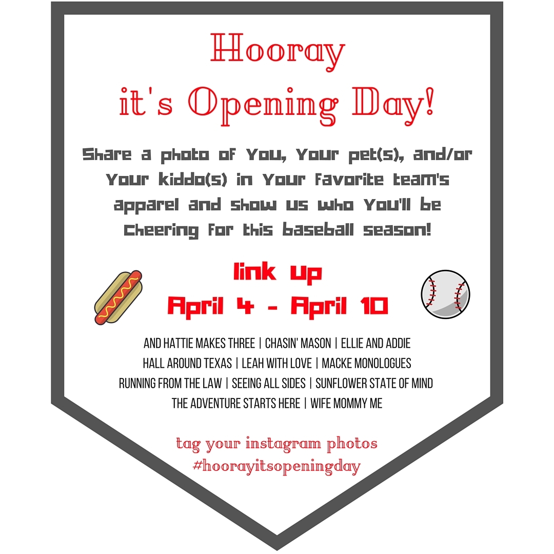 Graphic - Hooray it's Opening Day