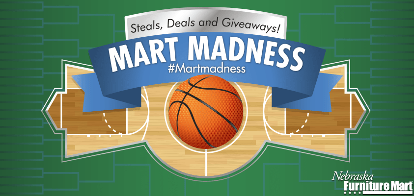 Sunflower State of Mind: Nebraska Furniture Mart Madness Giveaway