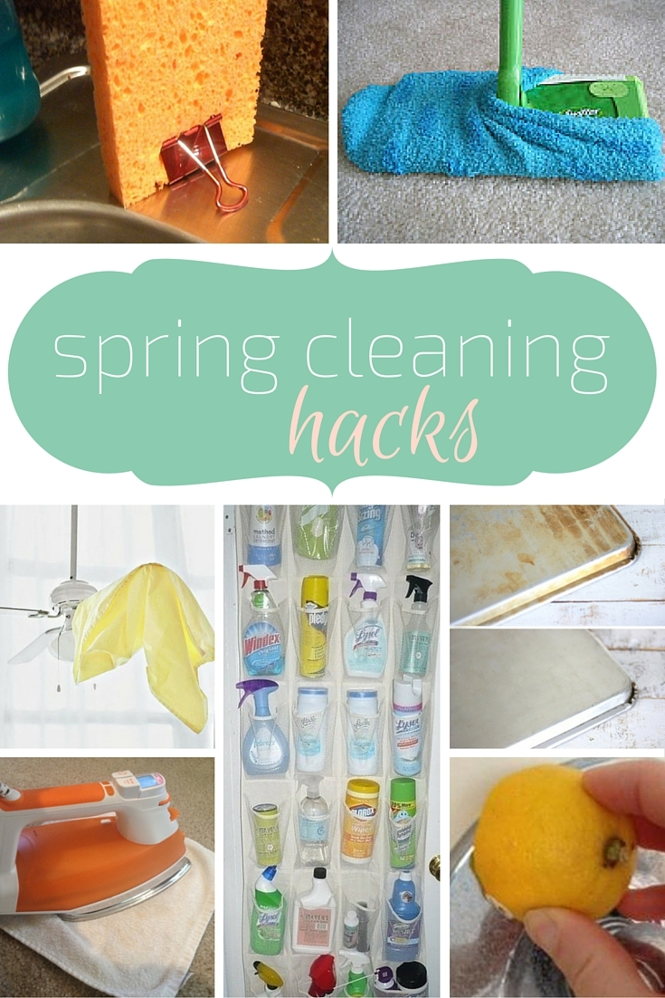 Sunflower State of Mind: Spring Cleaning Hacks
