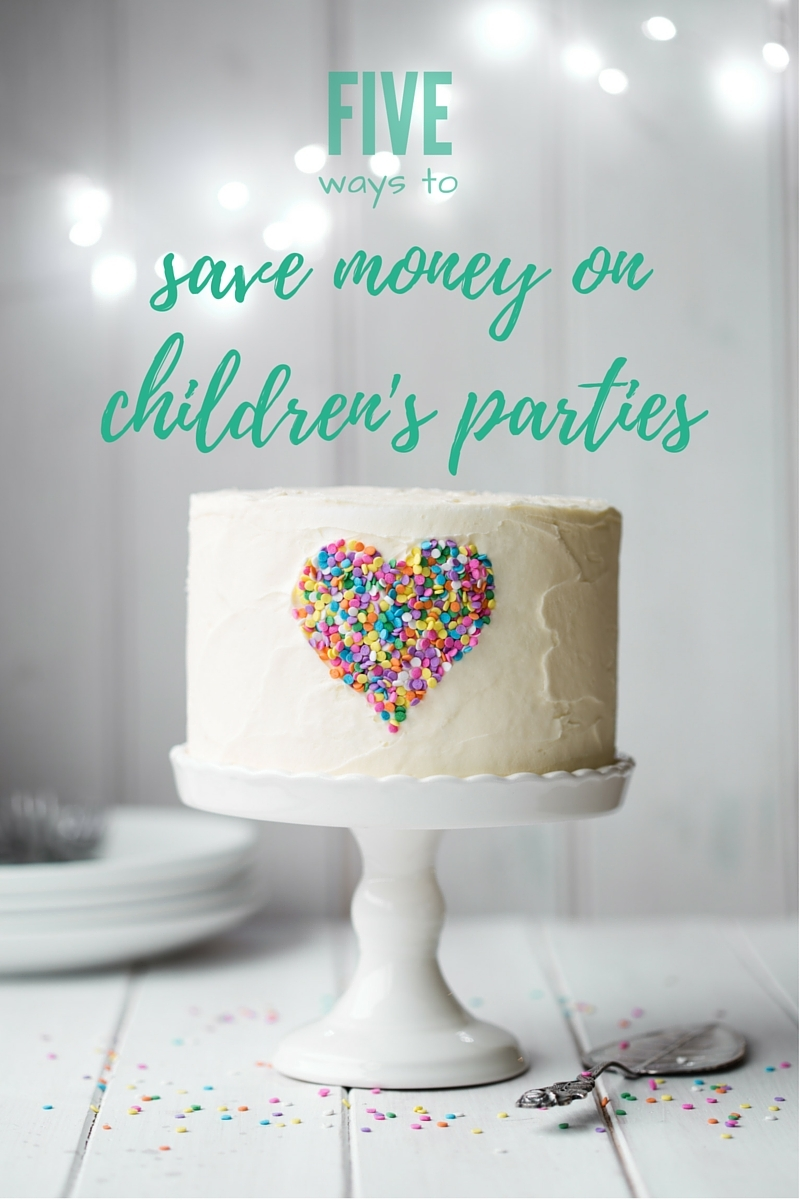 5 Ways to Save Money on Birthday Parties