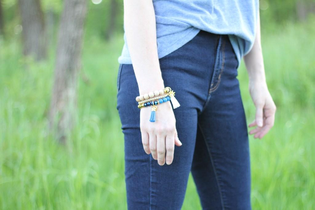 Kansas City Royals Style Giveaway: Hazel & Ollie bracelet