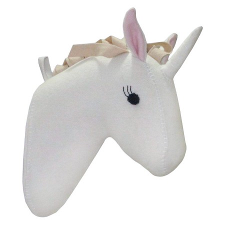 pillowfort unicorn head