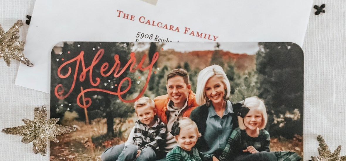 Signed, Sealed & Delivered – Shutterfly Holiday Cards!