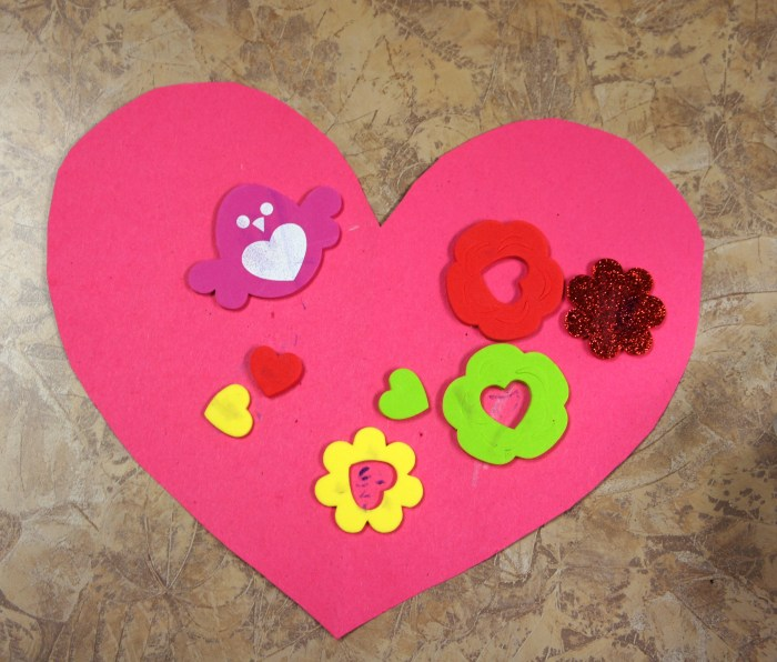 Happy Valentines Day Sunflower Storytime