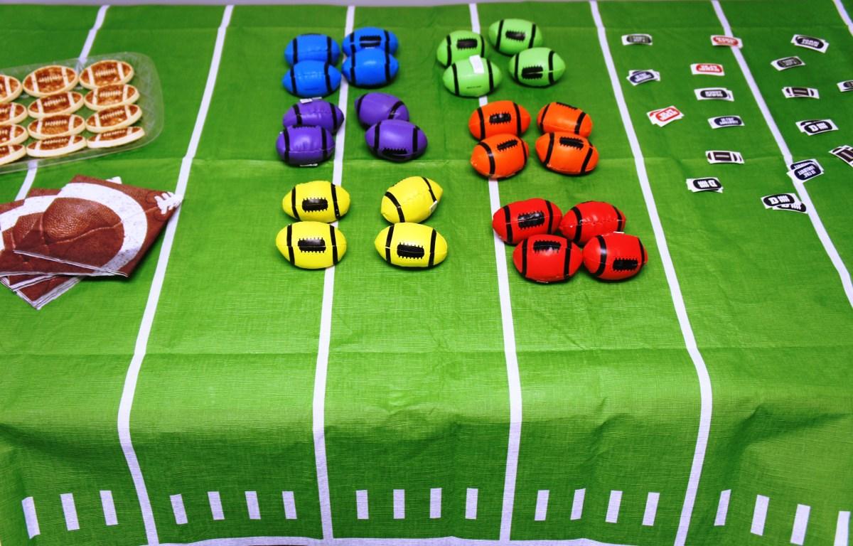 Football Sports Sunflower Storytime