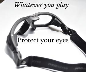 แว่นสายตาบาสเกตบอล