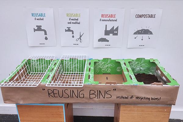 Prototype of Reusing Bins