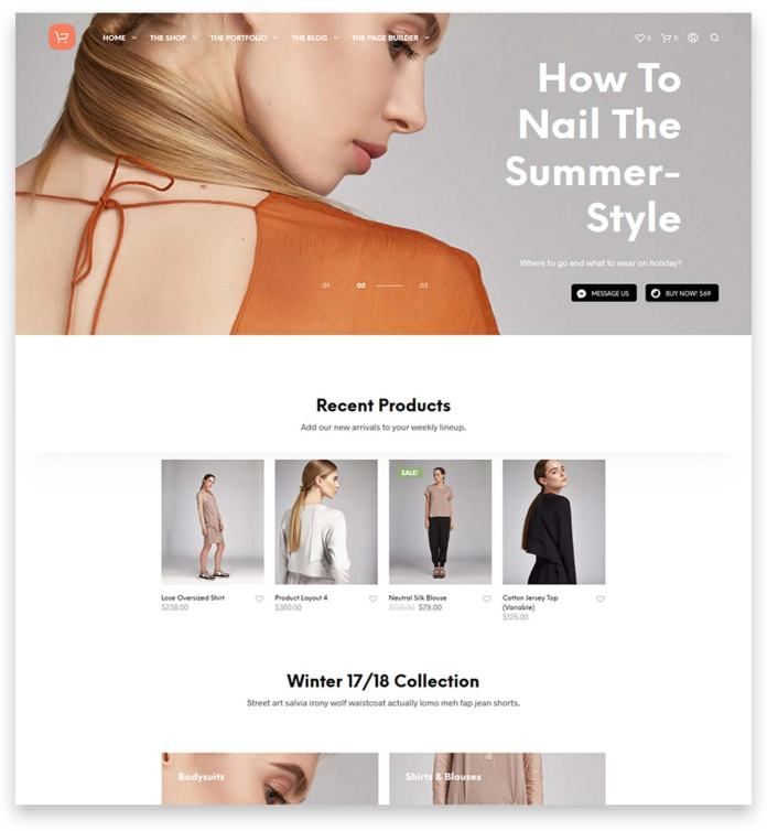 Shopkeeper - eCommerce WP Theme for WooCommerce website