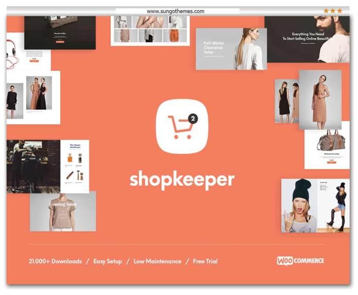 Shopkeeper - Responsive WooCommerce WordPress Theme
