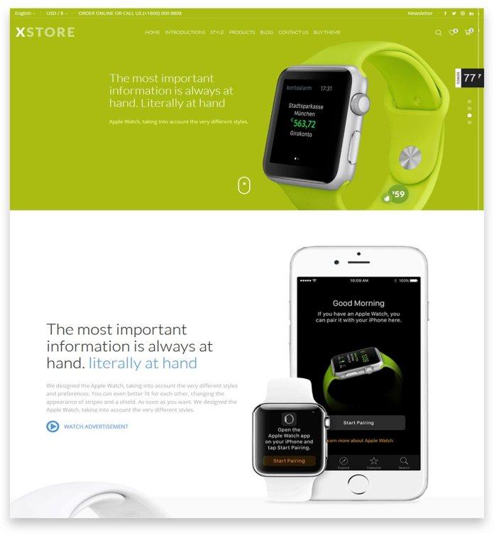 XStore   Responsive Multi-Purpose WooCommerce WordPress Theme for eCommerce website