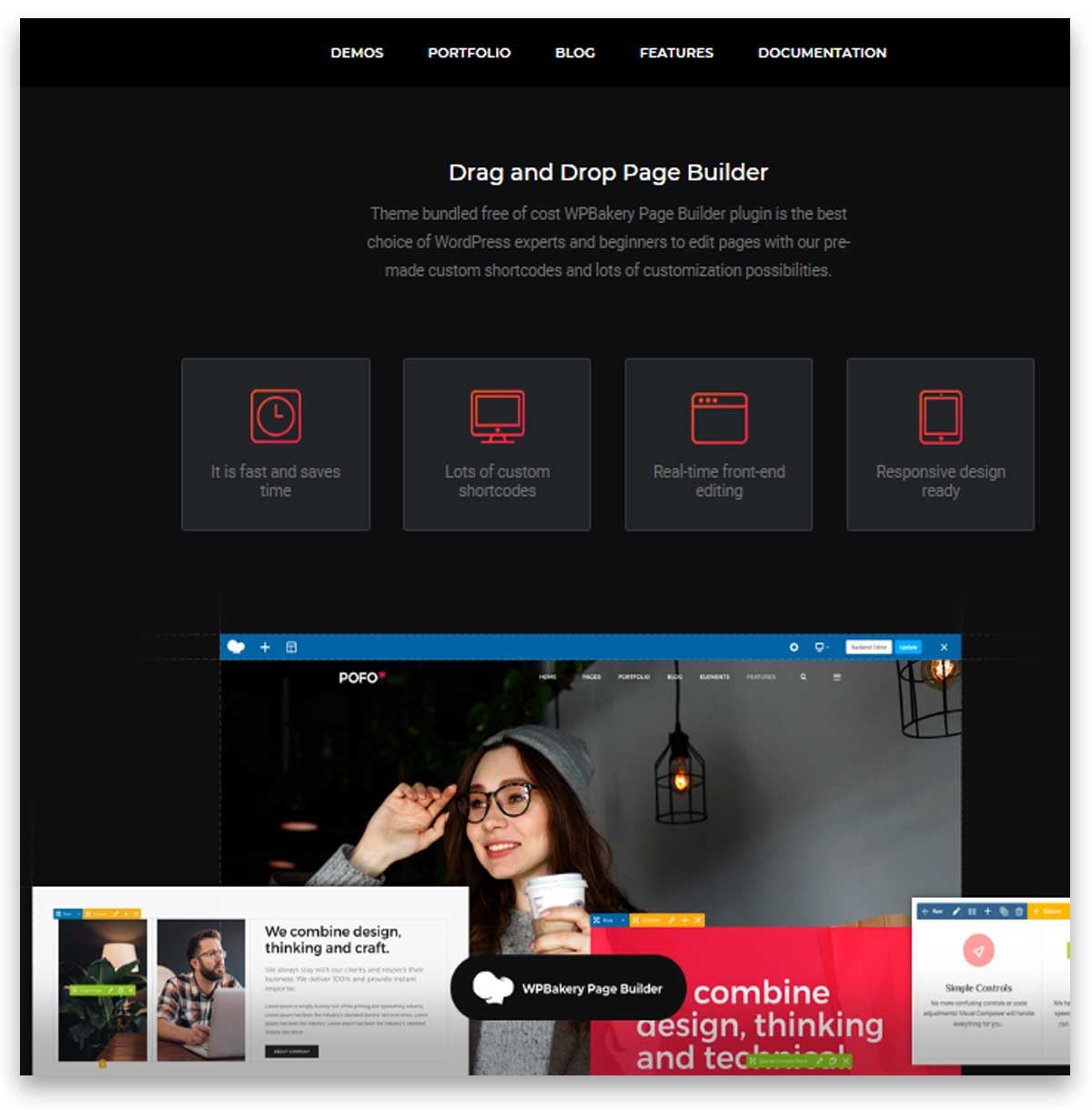 Pofo - Creative Portfolio and Blog WordPress Themes