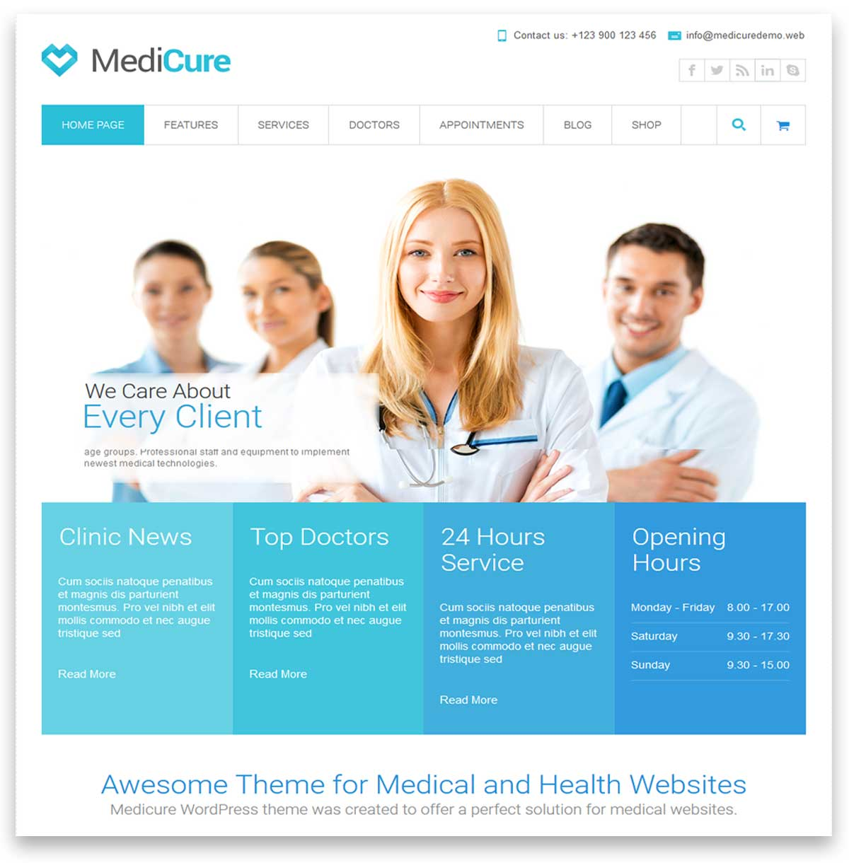 medical directory wordpress themes