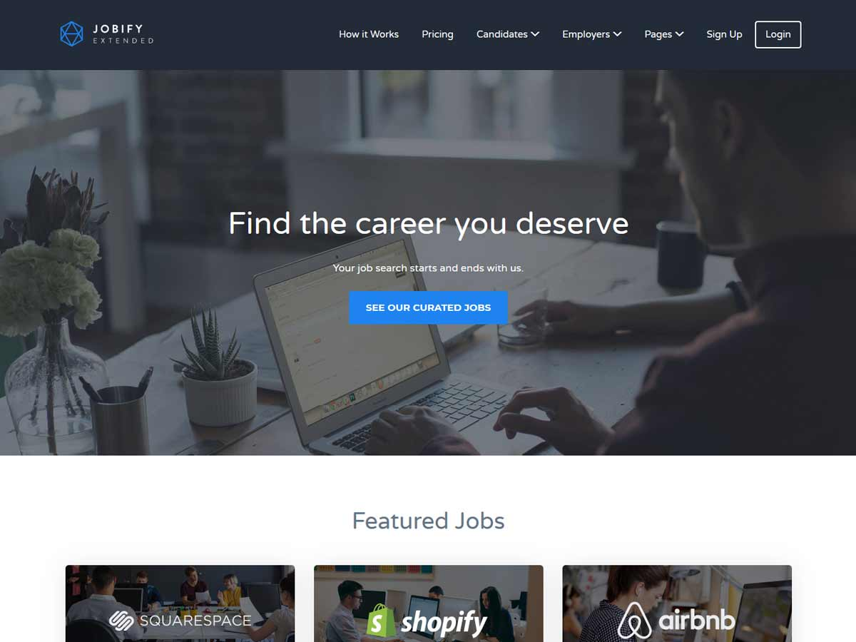 Jobify - Job Board WordPress Theme