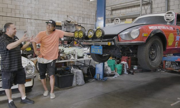 Sung Kang's Doc Z 240Z Starts Its Restoration With A Respray