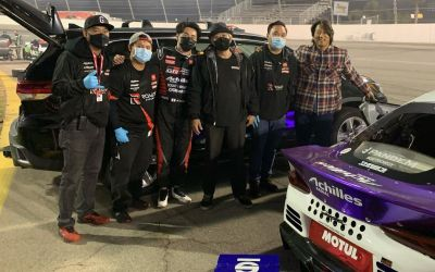 Sung Kang Hangs Out With Ken Gushi And His Supra At Formula Drift Irwindale
