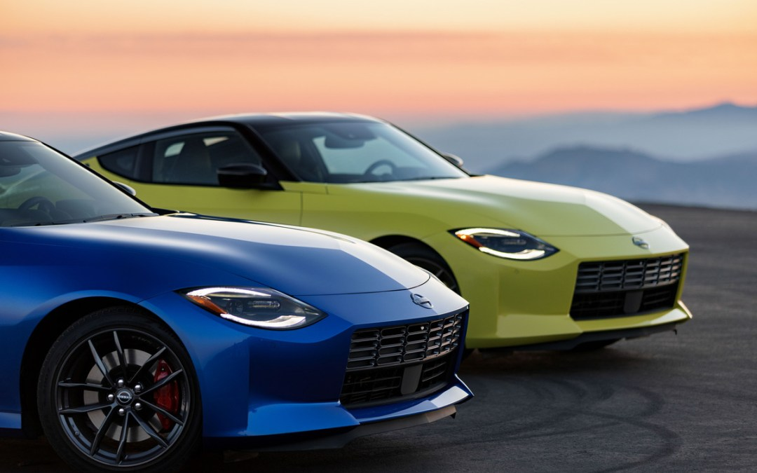 Check Out The New 2023 Nissan Z Sports Car