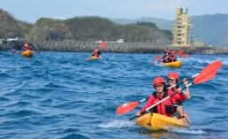 海洋獨木舟 豆腐岬