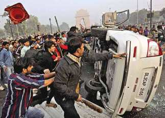 Govt. vehicles being vandalized