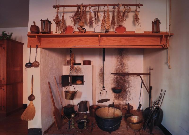 Sun Inn Old Kitchen Fireplace